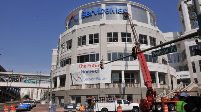 Construction: Massive permit filed for ServiceMaster