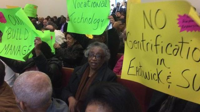 Eastwick neighbors demand full inclusion in planning process for 189 acres