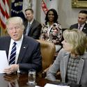 Education: Trump orders review of federal overreach in schools; profs question Gap ad