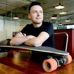 Myke Nahorniak keeps his wheels turning at Localist