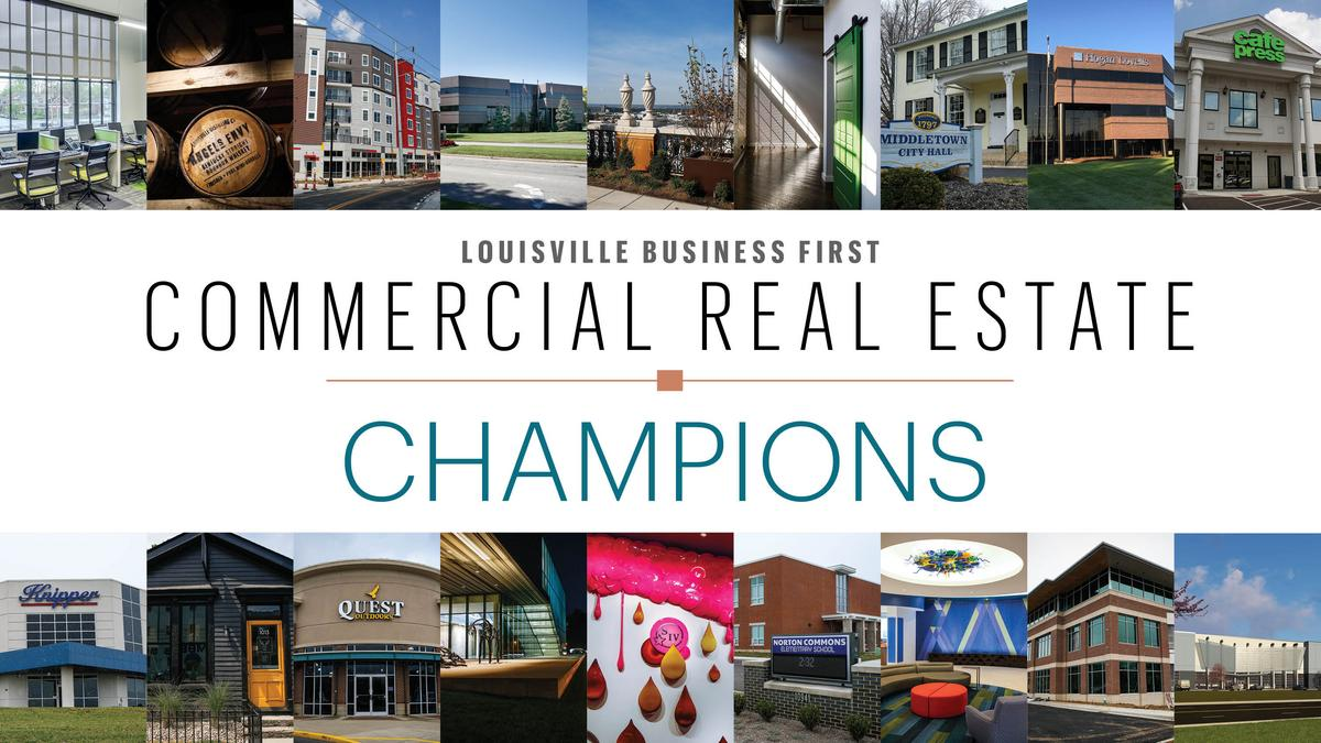Commercial Property Background : These commercial real estate champions have left a mark on