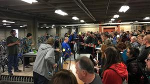 The Minneapolis bike auction is more intense than you'd think, and brings in a lot of money