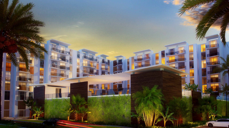 The Project At 441 And Griffin Road In Hollywood Would Have Apartments, A  Wawa,