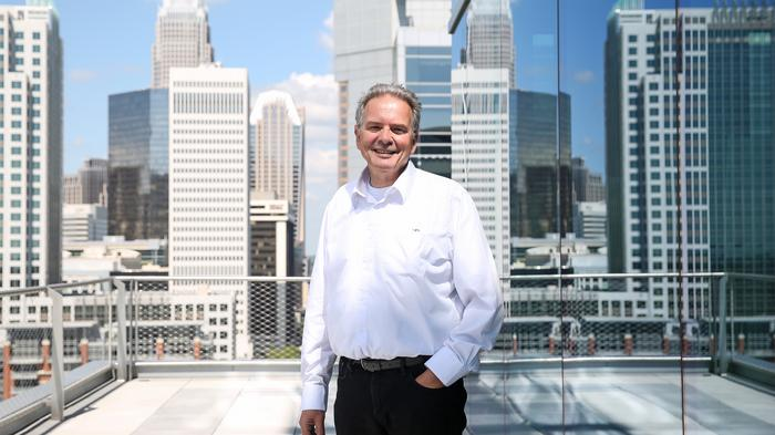PHOTOS: 615 South College architect on designing a '70 mph' building for Charlotte skyline