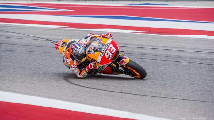 Behind the scenes: Corporations spend big on brand promotion at Austin's MotoGP race