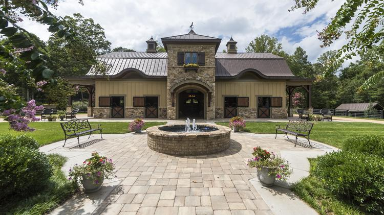Former equifax president lists canton horse estate at 13 for Custom home builders canton ga