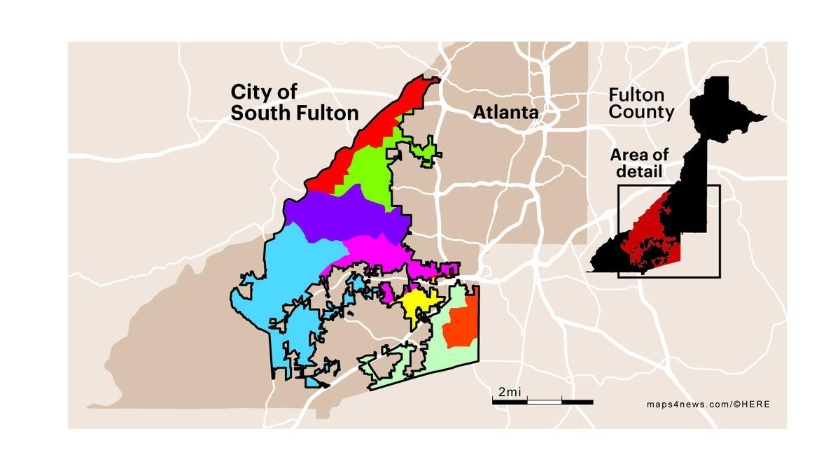 New City Of South Fulton Ga