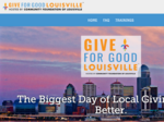Louisville's biggest day of giving is getting bigger