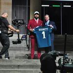 NFL Draft: Temple's Reddick to Arizona, Eagles pick DE Derek Barnett