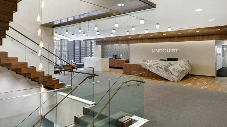 Cool Offices: Lindquist U0026 Vennum Replaces Big Corner Offices With  One Size Fits All