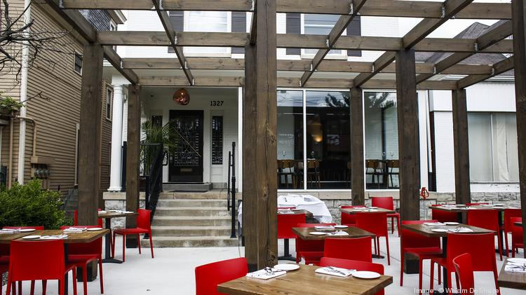 Patio Seating Is Available In The Front Of Roc Restaurant On Bardstown Road