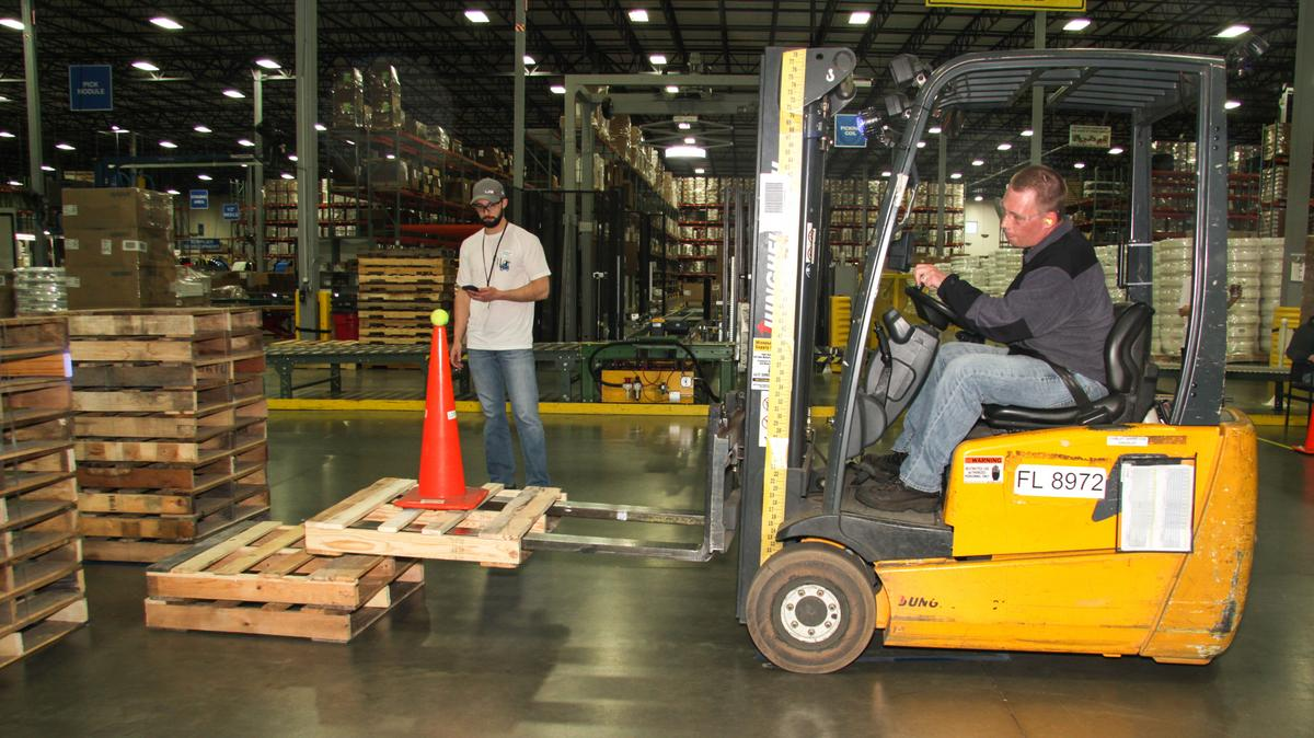 uponor north america gets creative  holds forklift rodeo to raise safety awareness  video