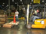 Uponor hosts forklift rodeo — to promote forklift safety, honest