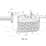 Universal patent to streamline water ride tube dispensers at Volcano Bay