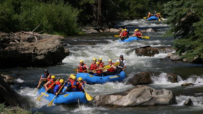 Clear Creek Rafting braved the rapids before whitewater rafting there was even a thing (Photos)