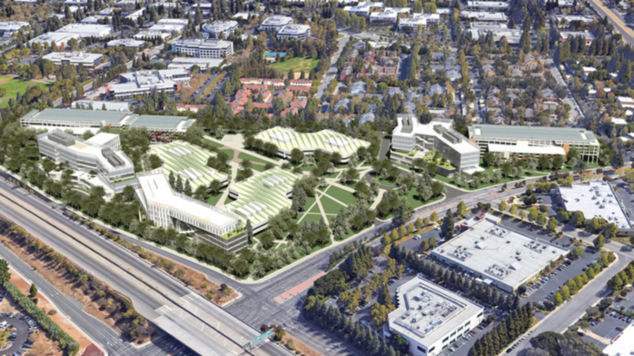 LinkedIn unveils proposal for new Mountain View HQ (renderings)