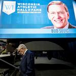 Scenes from Wisconsin Athletic Hall of Fame induction event honoring Bud Selig