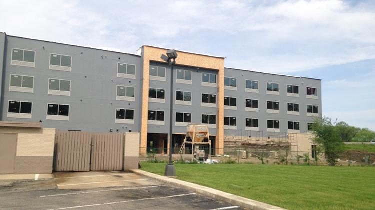 A New Holiday Inn Express Near University Of Dayton Is On Track To Open This August