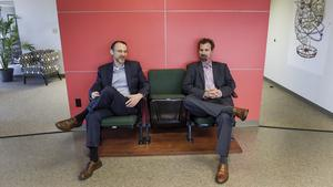 Brian McIntyre and Jake Norris are the managing partners at Oakwood Search.