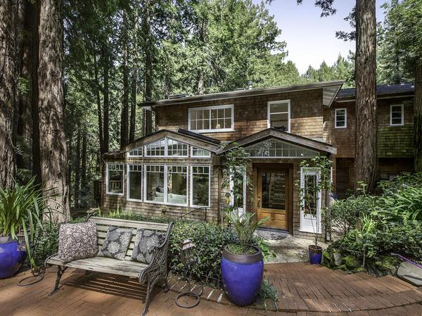 Stunning Craftsman Retreat on 1.5+ acres Acres in the Heart of Mill Valley