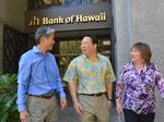 Bank of Hawaii, G70's close relationship
