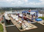 Matson, Philly Shipyard hold ceremony for new container ships