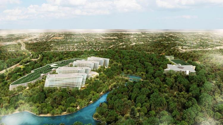 The American Airlines complex will sit on 300 acres in Fort Worth.