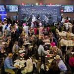 Renovated Churchill Downs clubhouse draws bustling crowd, high praise on Oaks Day