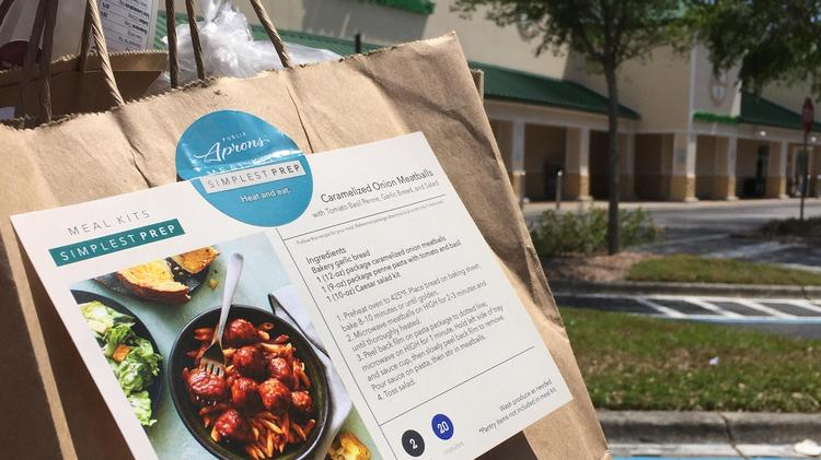 The Publix in Shoppes of Citrus Park is one of only two stores in the company offering the meal kits right now.