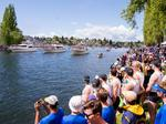 A cannon's boom, a colorful boat parade and a win for UW rowers marked the opening of boating season (Photos)