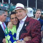Jeff Ruby sponsored the winning Kentucky Derby jockey; what's that worth?
