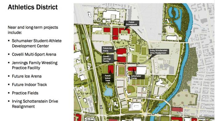 Ohio State considering new 4,000-seat ice rink for men's and women's hockey