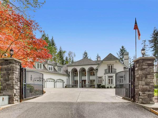 Mayview Manor: Private & Gated Estate Located on 5 Secluded Acres