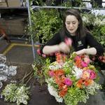 Appreciation in the making: New England's largest florist at its busiest time