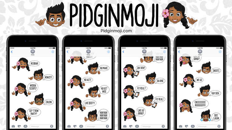 Hawaii brothers launch Pidginmoji sticker app for Apple's