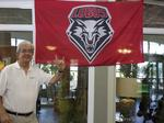 Larry Chavez on talking his way into UNM and what he plans for the future