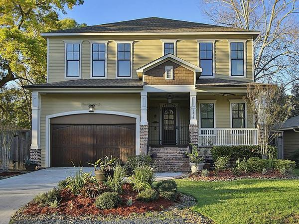 New Orleans-Style Custom Home In Oak Forest