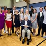 <strong>Charlie</strong> <strong>Loudermilk</strong> gives to inspire homeless youth to succeed