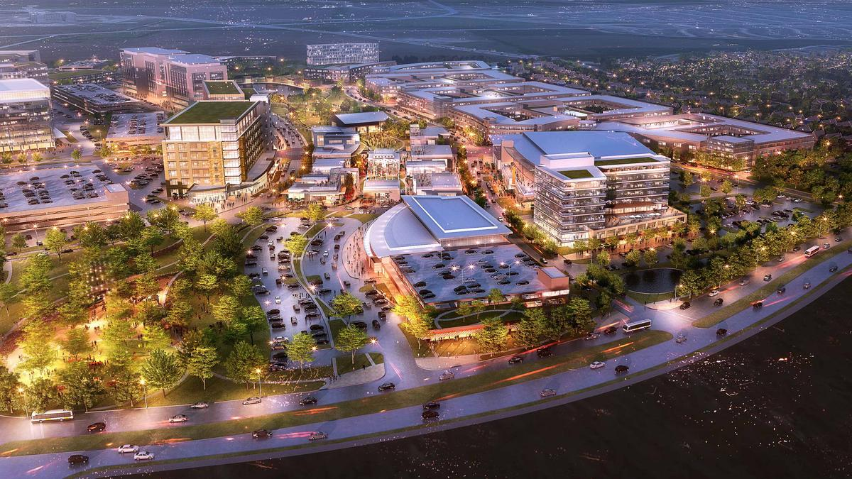 Houston Based Hines Unveils New 135 Acre Campus Anchored