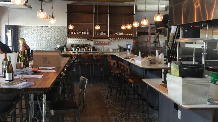The Interior Of New Restaurant Rue St Marc