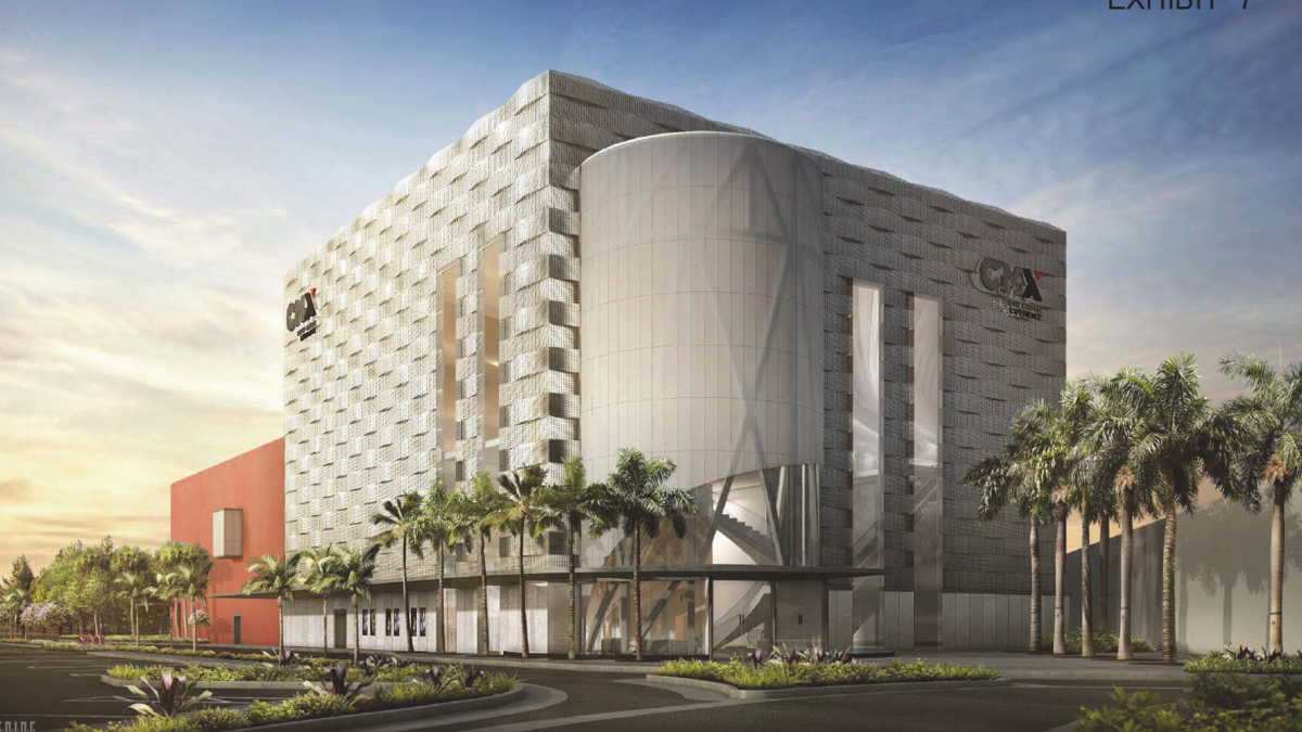 design revealed for cmx theater at gulfstream park in hallandale design revealed for cmx theater at gulfstream park in hallandale beach south florida business journal