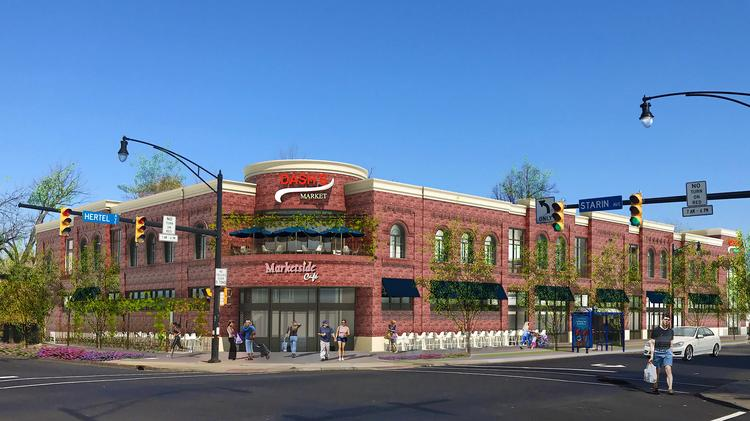 A Rendering Of The New Dash S On Hertel And Starin Avenues