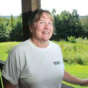Julie Weathers' home could become lake-front property if the reservoir is created.