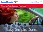 Bank of America pilots online car shopping program in Carolinas