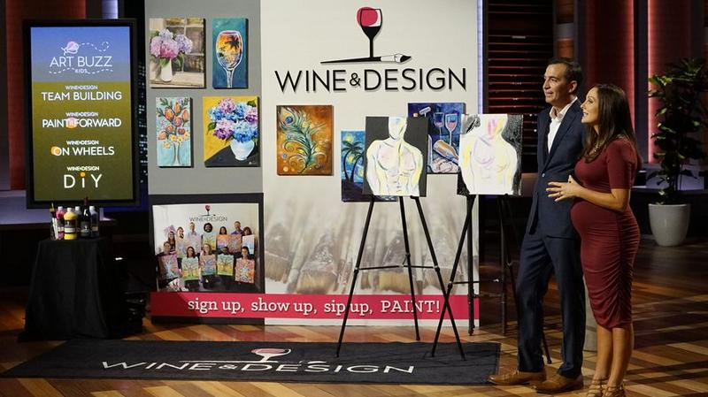 Wine & Design on 'Shark Tank'