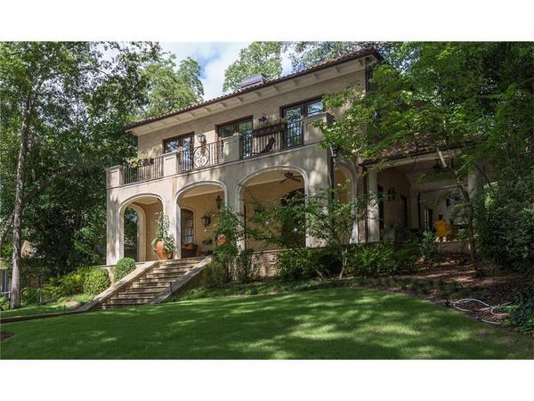 Home of the Day: Custom Built Mediterranean in the Heart of Ansley Park