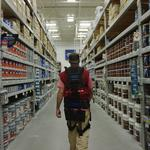 'Exosuit' brings superpower-like skills to Lowe's employees