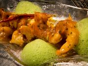 Gambas al Ajillo: sautŽed shrimp, garlic, olive oil, spicy tomato sauce, parsley $22.00