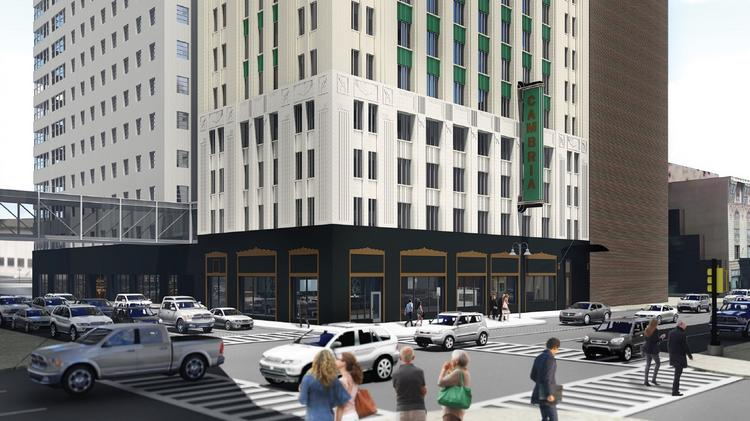 The new 150-room hotel will sit within the Art Deco-style building that sits near the Majestic Theater.