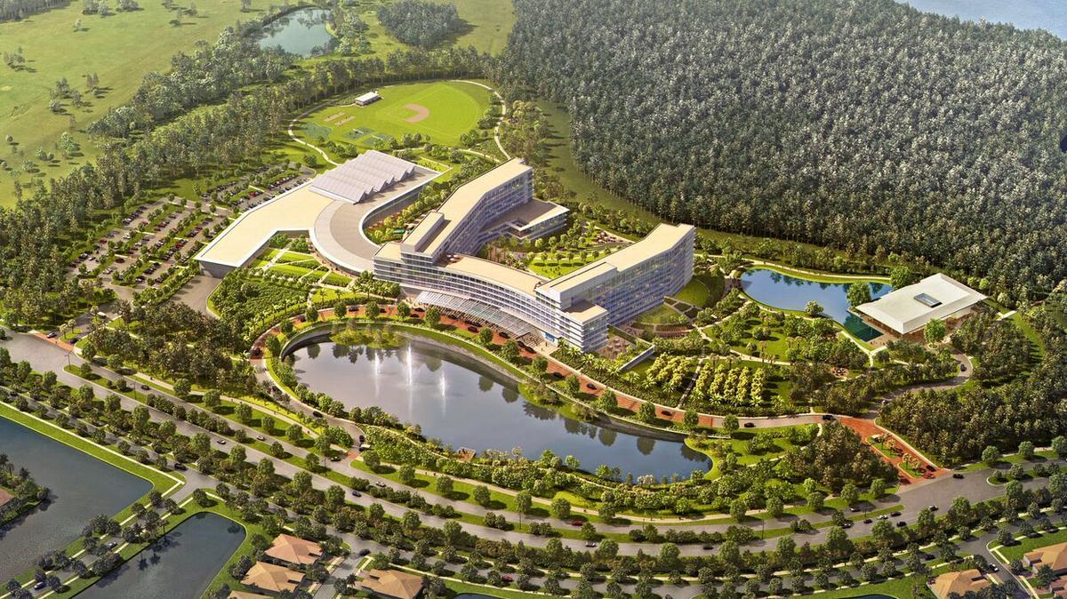 KPMG's $450M training center in Lake Nona takes shape ...